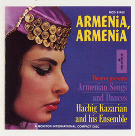 Hachig Kazarian Ensemble Armenia  Armenian Songs and Dances  CD