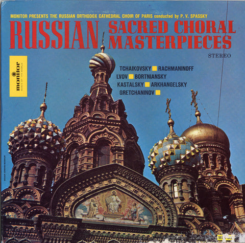 Russian Orthodox Cathedral Choir  Russian Sacred Choral Masterpieces CD