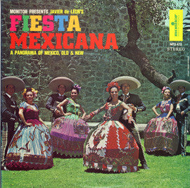 Javier de Leon - Fiesta Mexicana  Javier de Leon's Panorama of Old Mexico and New  CD