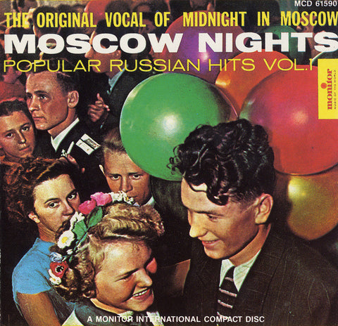Moscow Nights  Popular Russian Hits, Vol. 1 CD