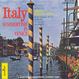 Dom Cortese and Company Summertime in Venice  Italian Hits CD