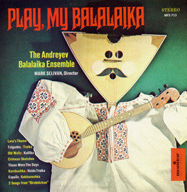 Andreyev Balalaika Ensemble  Monitor Presents the Andreyev Balalaika Ensemble CD