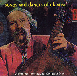 The Ukrainian Bandura Players  Songs and Dances of the Ukraine CD