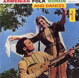 Armenian Folk Songs and Dances  CD
