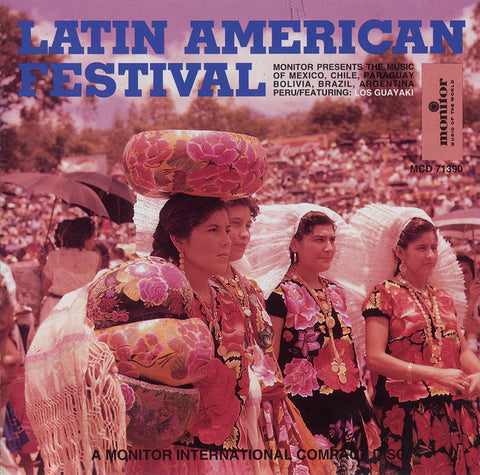 Latin American Folk Festival  CD