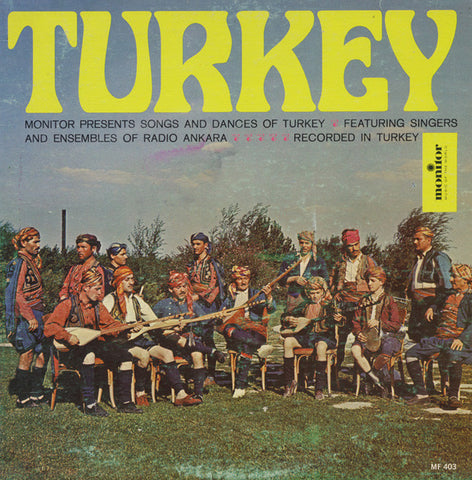 Radio Ankara Ensemble Turkey CD