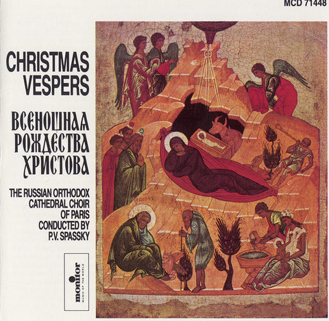 Russian Orthodox Cathedral Choir  Christmas Vespers CD