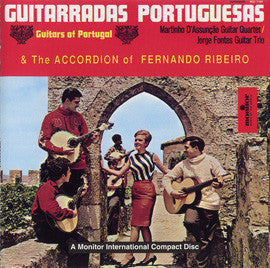 Guitarradas Portuguesas and the Accordion of Fernando Ribeiro CD