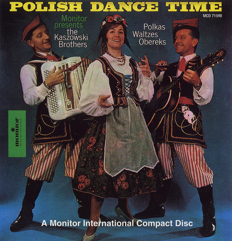 Kaszowski Brothers  Polish Dance Time CD