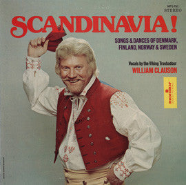 William Clauson Scandanavia  Songs of Denmark, Finland, Norway and Sweden CD