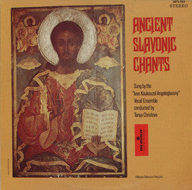 Ancient Slavonic Chants  Ivan Koukouzel Angeloglassny Ensemble CD
