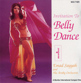 Emad Sayyah - Invitation to Belly Dance  CD