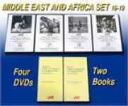 JVC Middle East & Africa Music and Dance Regional Set -- 4 DVDs and 1 CD-ROM with 9 printable, searchable and copy-permission books -- ON SALE!!