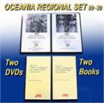 JVC Oceania Music and Dance Regional Set -- 2 DVDs and 1 CD-ROM with 9 printable, searchable and copy-permission books -- REDUCED PRICE