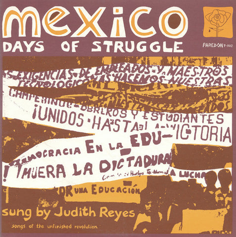 Mexico  Days of Struggle (1973)  Judith Reyes CD