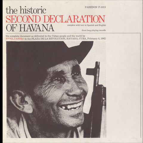 The Historic Second Declaration of Havana  Feb. 4, 1962 (1973)  Fidel Castro 2 CD set