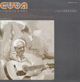 Cuba  Songs for Our America (1975)  Carlos Puebla CD