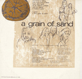 "A Grain of Sand, Music for the Struggle by Asians in America with Chris Kando Iijima, Joanne Nobuko Miyamoto, ""Charlie"" Chin (1973) CD"