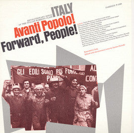 Italy  Avanti Popolo! (Forward People!) (1974)  CD