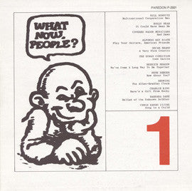 What Now People?, Vol. 1 with Bernice Johnson Reagon, Pete Seeger, Charlie King, others (1975) CD