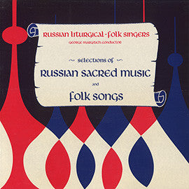 Selections of Russian Sacred Music and Folk Songs CD
