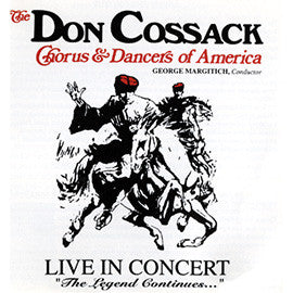 Live In Concert: The Legend Continues CD