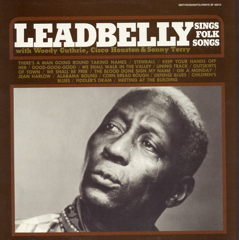 Lead Belly Sings Folk Songs (1989) Reissue of F-2488 from 1962 CD