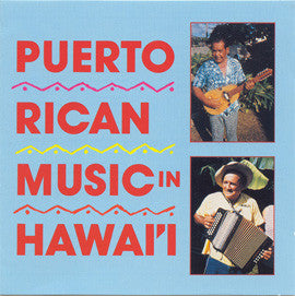 Puerto Rican Music in Hawaii CD
