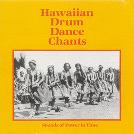 Hawaiian Drum Dance Chants CD