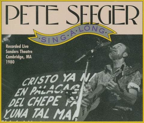 Pete Seeger  Sing-A-Long! Live at Sanders Theater 1980 2 CD SET