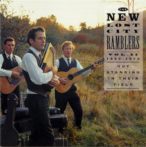 New Lost City Ramblers  Out Standing in Their Field  Vol. 2, 1963-1973 (1993) CD