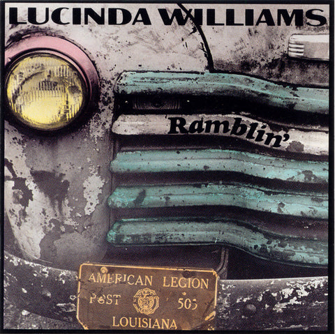 Lucinda Williams  Ramblin' on My Mind (1991) CD