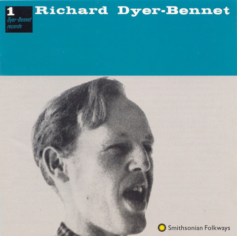 Richard Dyer-Bennet  Dyer-Bennet Records Vol 1 (1997) CD