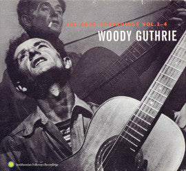 Woody Guthrie  The Asch Recordings Vols. 1-4 4 CD Boxed Set