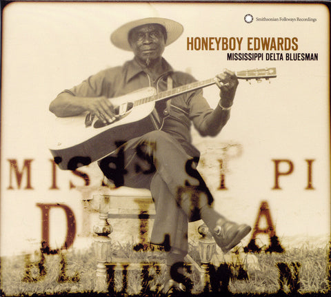 Mississippi Delta Bluesman (1979)  David Honeyboy Edwards CD