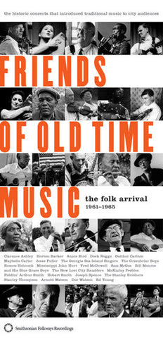Friends of Old Time Music 3 CD Boxed Set