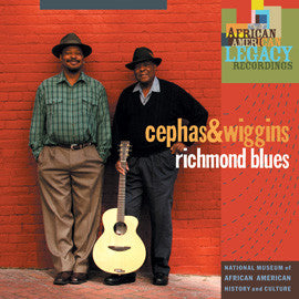 Cephas and Wiggins  Richmond Blues CD