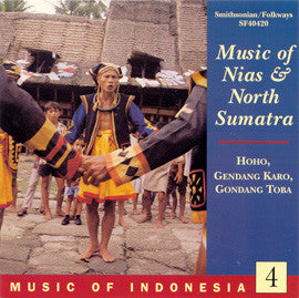 Music of Indonesia 4  Music of Nias and North Sumatra CD