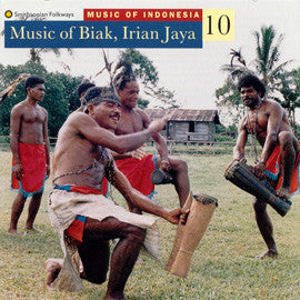 Music of Indonesia 10  Music of Biak, Irian Jaya CD