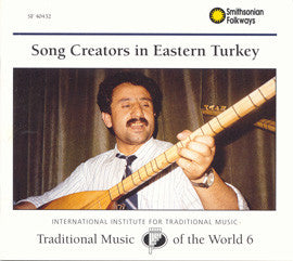 Song Creators in Eastern Turkey CD