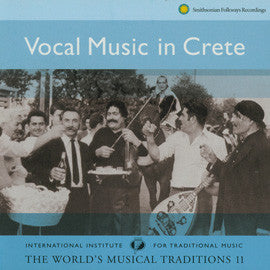 Vocal Music in Crete CD