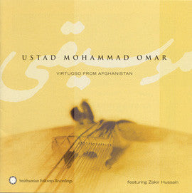 Ustad Mohammad Omar  Virtuoso from Afghanistan CD