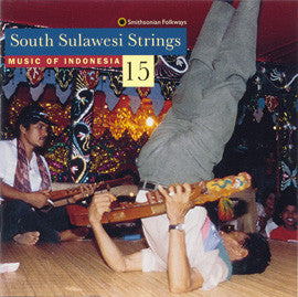 Music of Indonesia 15  South Sulawesi Strings CD