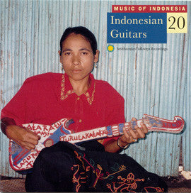 Music of Indonesia 20  Indonesian Guitars CD