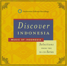 Discover Indonesia CD