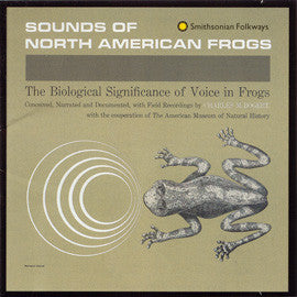 Sounds of North America Frogs CD