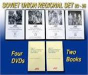 JVC Soviet Union Music and Dance Regional Set -- 4 DVDs and 1 CD-ROM with 9 printable, searchable and copy-permission books