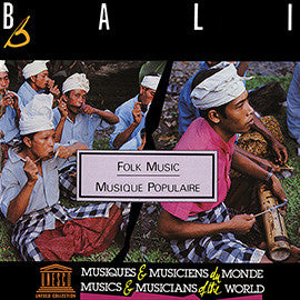 Bali: Folk Music CD