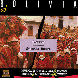 Bolivia: Panpipes CD