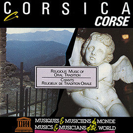 Corsica: Religious Music of Oral Tradition CD